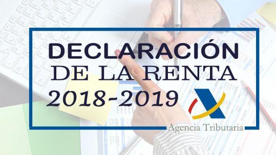 novedades campaña declaracion de la renta 2018